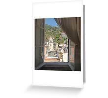 Vernazza, Italy Greeting Card