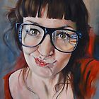 Self Portrait by Alexandra  Gallagher