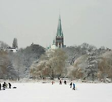 a stroll on the Alster...02 by Karen  Securius