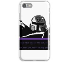 Vile Will Haunt You iPhone Case/Skin