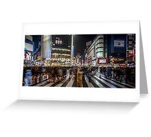 Shibuya crossing, Tokyo Japan Greeting Card