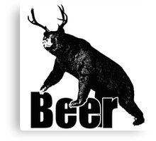 Beer Fun Canvas Print