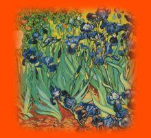 Irises, Vincent van Gogh Kids Clothes