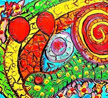 SNAIL RAINBOWS by Claudine West