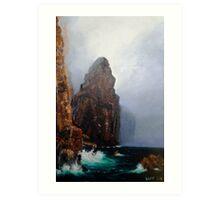 Mist and Sea Drift Art Print