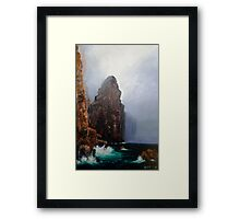 Mist and Sea Drift Framed Print