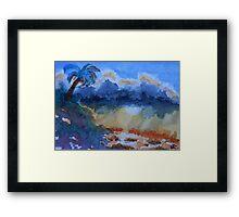 Galapagos Storm Framed Print