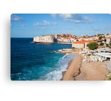 Holiday in Dubrovnik Canvas Print