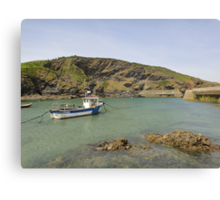 Port Isaac, England Canvas Print