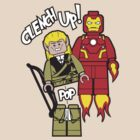 Clench Up, LEGO-las! by warbucks360