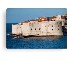 Dubrovnik Fortifications Canvas Print