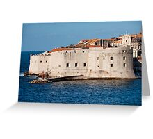 Dubrovnik Fortifications Greeting Card