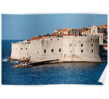 Dubrovnik Fortifications Poster