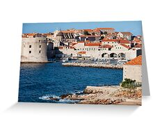 Dubrovnik Old Town Greeting Card