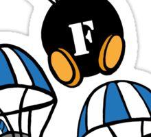 """Dropin """"F"""" Bombs Sticker"""