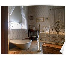 Bedroom from Hope Cottage Museum  Poster
