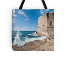 Dubrovnik Pier and Fortification Tote Bag