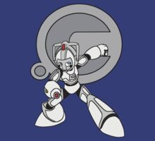 Cyberman X Megaman by Tao-Fury
