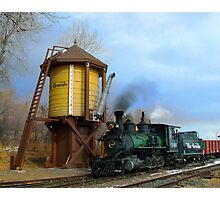 Colorado Railroad Museum Steam Up Photographic Print