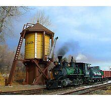 Colorado Railroad Museum Steam Up Photographic Print