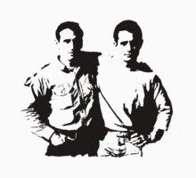 Jack Kerouac & Neal Cassady by kerouac