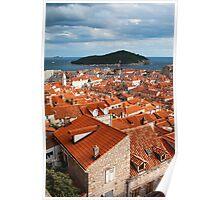 Dubrovnik Old Town Poster