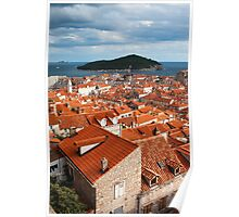 Dubrovnik Old Town Poster