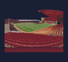 Pittodrie Stadium.  Home One Piece - Short Sleeve
