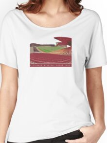 Pittodrie Stadium.  Home Women's Relaxed Fit T-Shirt