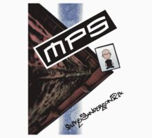 MikeSandersonpix T-Shirt - Cartoon by mps2000