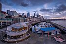 Seattle Bell Street Pier by Dan Mihai