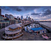 Seattle Bell Street Pier Photographic Print