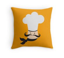 Simple cooking chef Throw Pillow