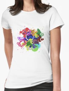 Veuus Womens Fitted T-Shirt