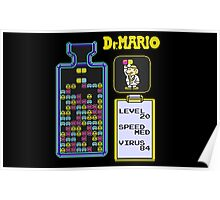 Dr.Mario NES Poster