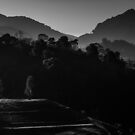 The hill in B&W by arthit somsakul