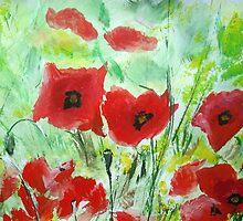 Poppy Field - Wall Art by JamesPeart