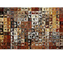 Tile Art #1, 2013. Modern Mosaic Tile Art Painting Photographic Print