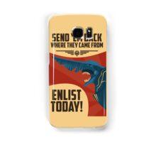 Knifehead Kaiju Propaganda Poster (Pacific Rim) Samsung Galaxy Case/Skin