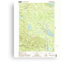 USGS TOPO Map New Hampshire NH Sanbornville 329775 2000 24000 Canvas Print