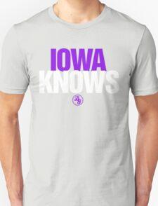 Discreetly Greek - IOWA Knows - Nike Parody T-Shirt