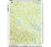 USGS TOPO Map New Hampshire NH Sanbornville 329775 2000 24000 iPad Case/Skin
