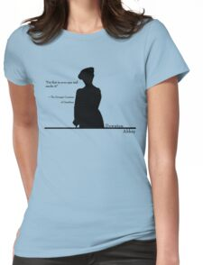 Put that in your pipe Womens Fitted T-Shirt