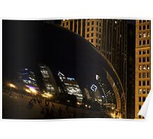 Cloud Gate, Chicago Poster