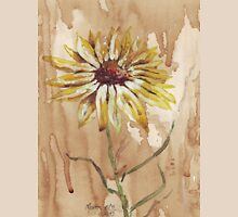 Yellow daisy on a coffee back-ground T-Shirt