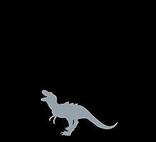 tyrannosaurus roaring yelling roar! by jazzydevil