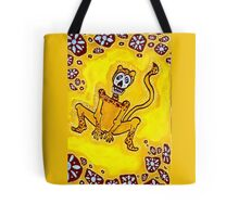 Cheetah Day of the Dead Tote Bag