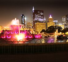 Chicago's Buckingham Fountain by EdPettitt