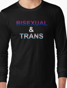 Bisexual & Trans T-Shirt
