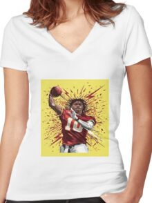 RG3 Shirt Women's Fitted V-Neck T-Shirt